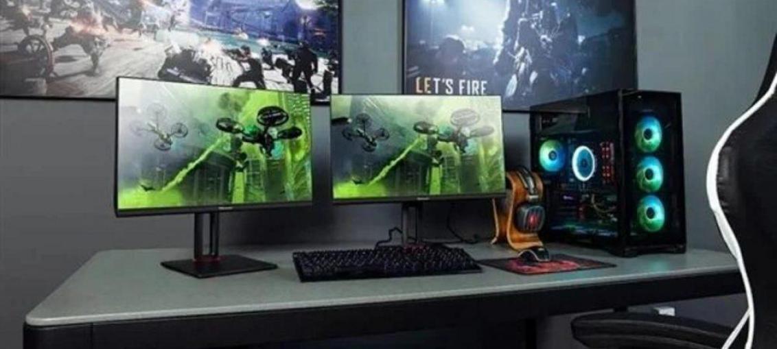Hisense випустили серію ігрових моніторів Hard series