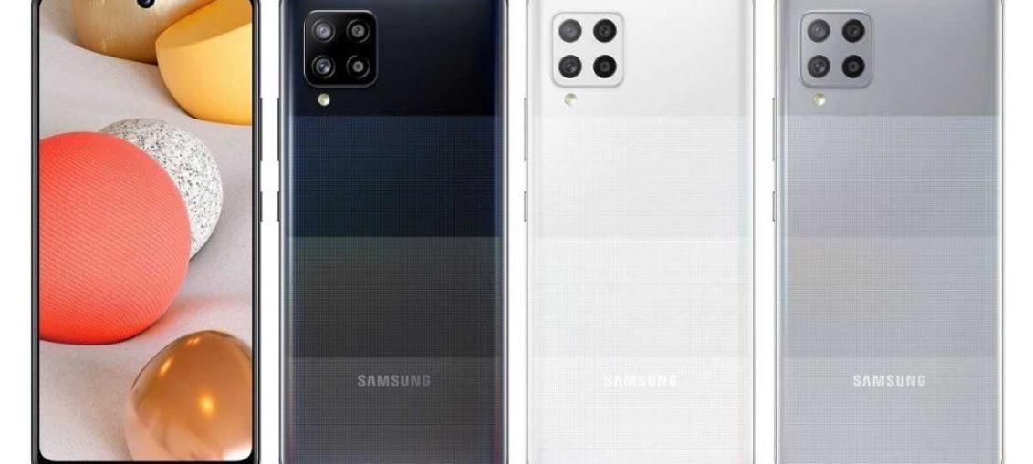 Розкрито кольорові варіанти смартфона Galaxy A42 5G