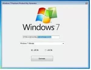 Clé de série Windows 7