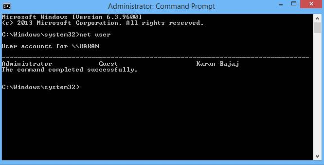 hack windows password -