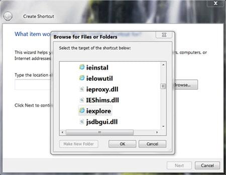 create own run commands on all windows