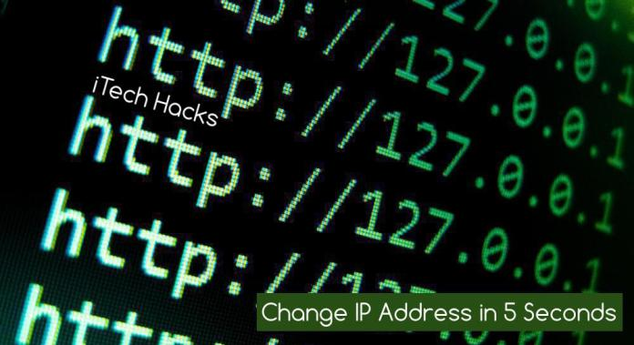 How To Change IP Address in 5 Second (Working)