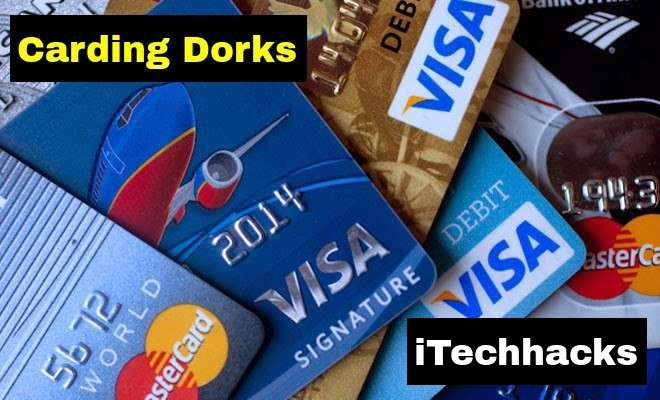 Latest Carding Dorks 2016