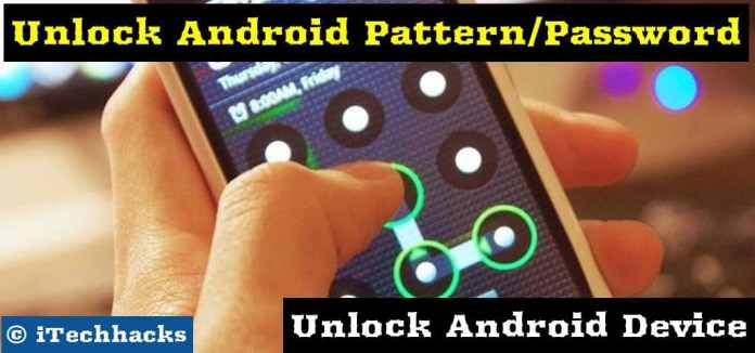 Unlock android devices without losing data - itechhacks