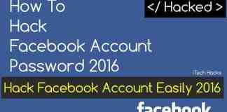 hack facebook account password 2016 latest hacking tricks 2016
