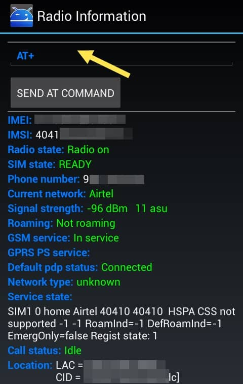 change IMEI number of android devices