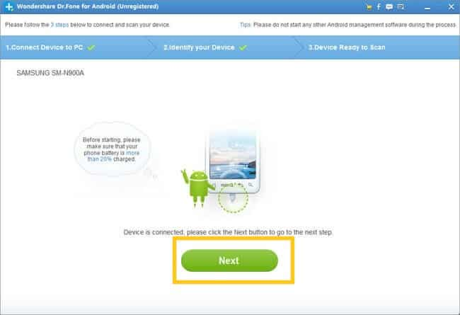 Recover Deleted Photos Files from Android Phone