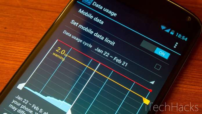Reduce Data Usage On Android Phones