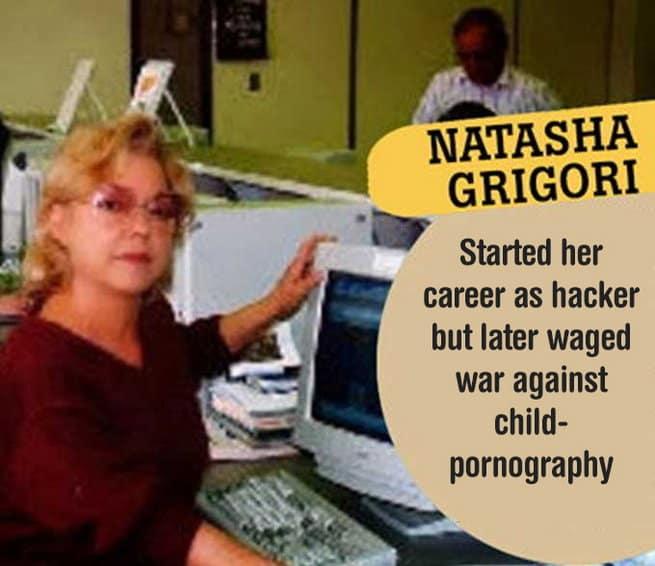 Natasha GriGori Sexiest Female Hackers