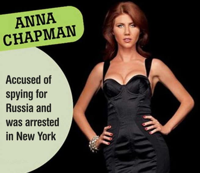 Anna Chapman Sexiest Female Hackers - itechhacks.com
