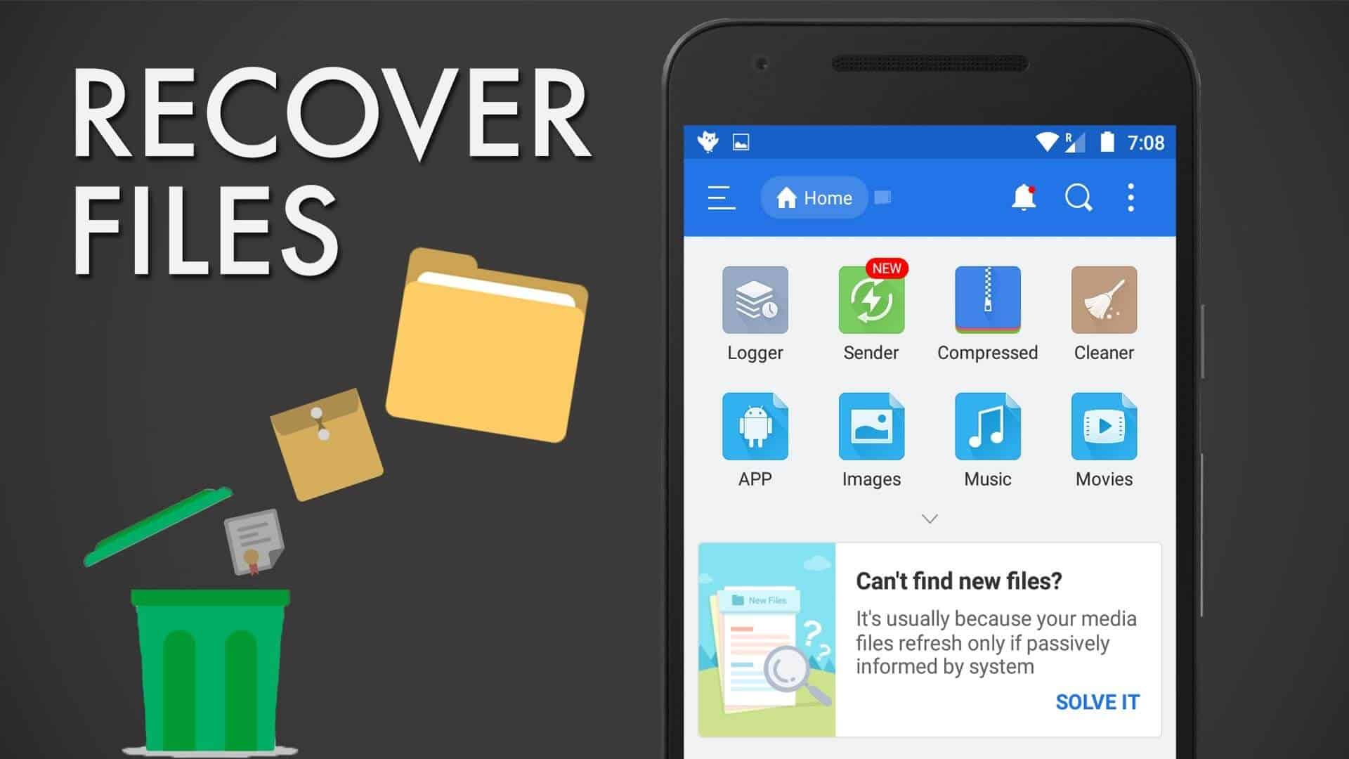 How To Recover Deleted Files Music Videos From Android 5