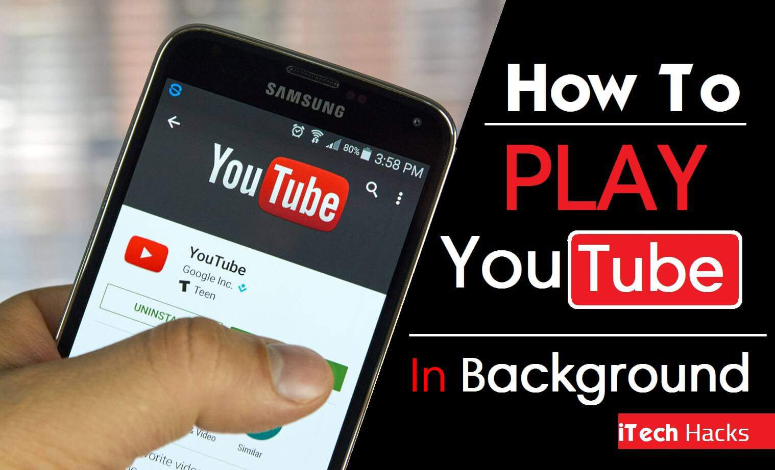 (8+ Apps) Play Youtube Videos In Screen Off Mode Android & Ios How How To  Download Youtube Videos In Mobile