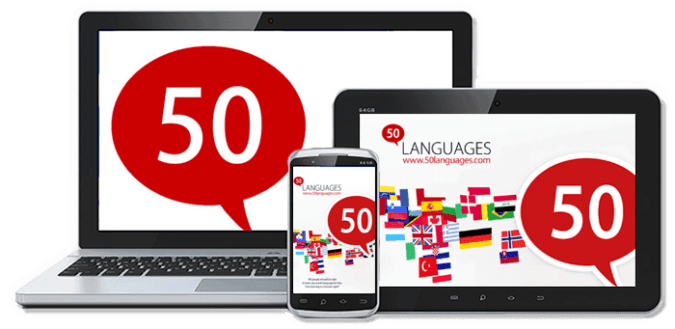 - 50 languages Learn Multiple Languages - 10+ Best Free Language Learning Apps For Android (2018)