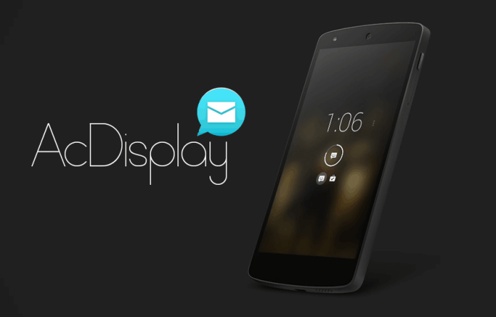 - AcDisplay - (30+) Best Free Lock Screen Apps For Android (Amazing) 2018