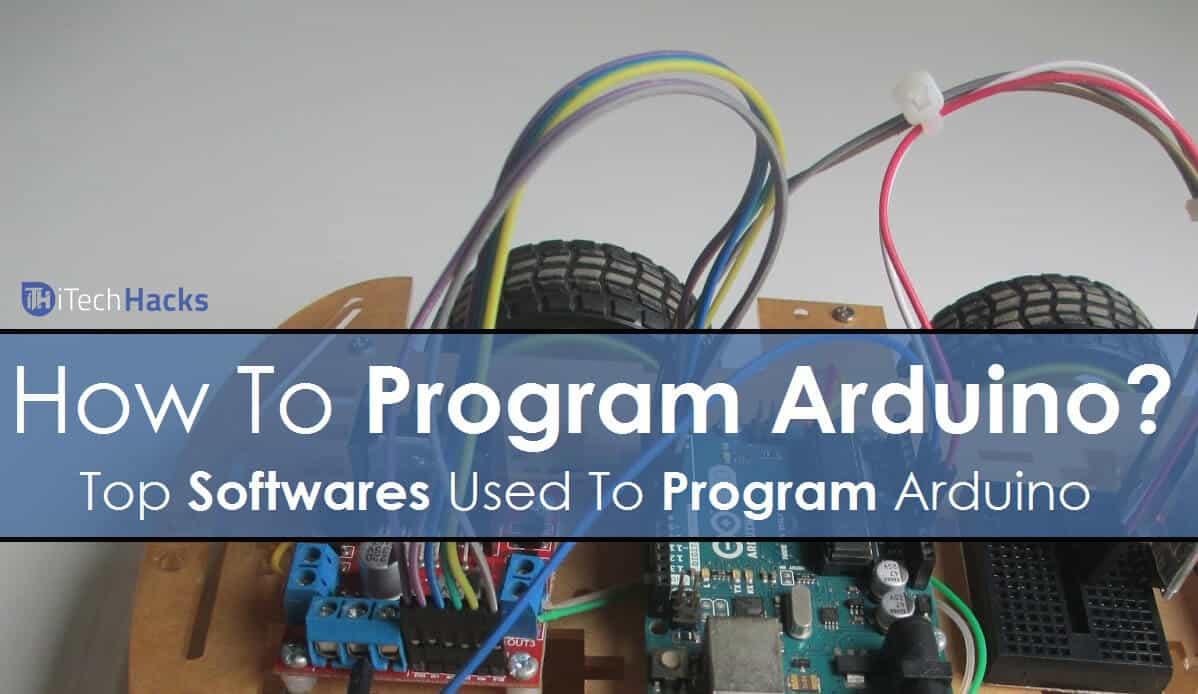 how to run a program arduino