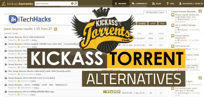 Top 8 Best Kickass Torrent Alternatives For Downloading 2017 | itechhacks