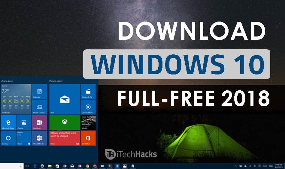 windows 10 for free upgrade 2018