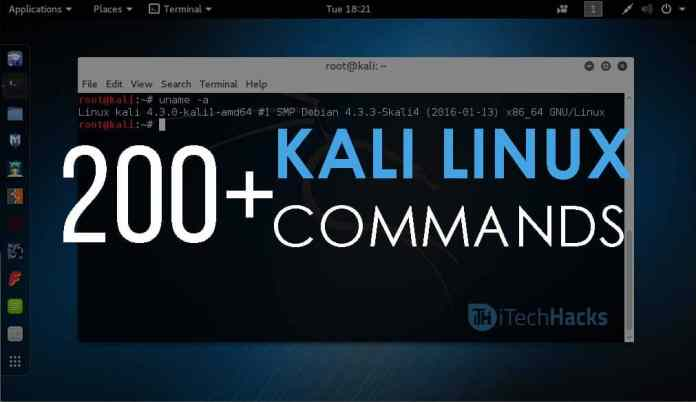 200+ Kali Linux and Linux Commands Line List   Basic to Advance