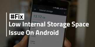 free up internal storage space on android