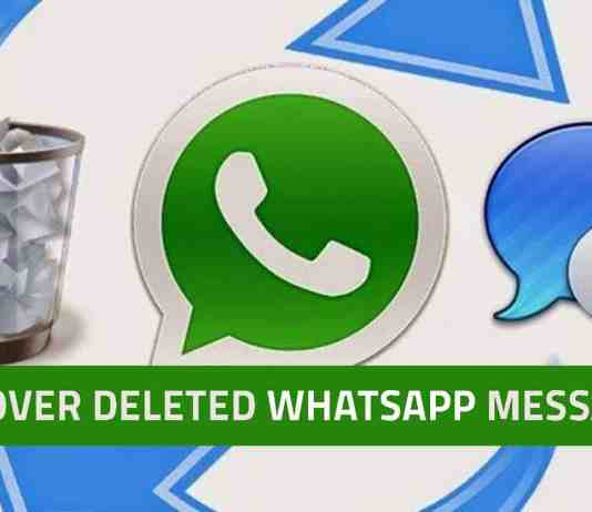 Recover Deleted Whatsapp Chats/Messages