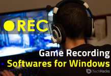 Best Game Recording Softwares for Windows