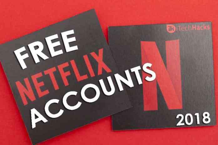 netflix accounts free