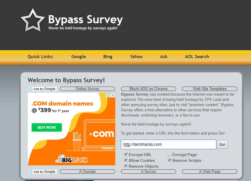 Best Survey Remover Online Tools