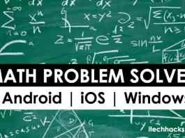 Top 5 Best Math Problem Solver Apps 2018