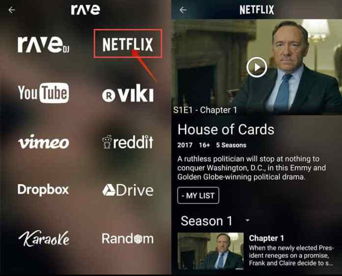 watch Netflix together on your Android & iOS