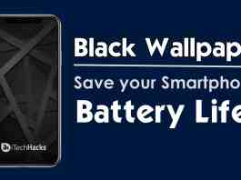 How Black Wallpaper Can Save your Android Battery?