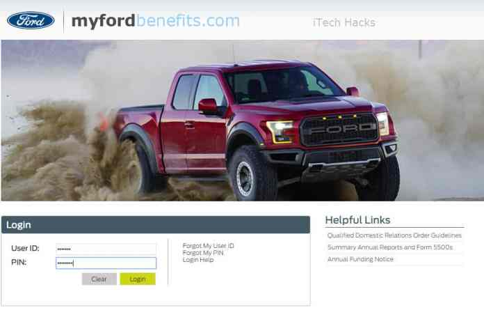How To Login Myfordbenefits Account (Working)