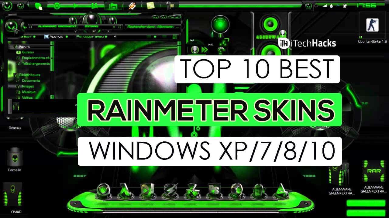 Best Rainmeter Skin And Themes For Windows Xp 7 8 10 2018 Laptrinhx
