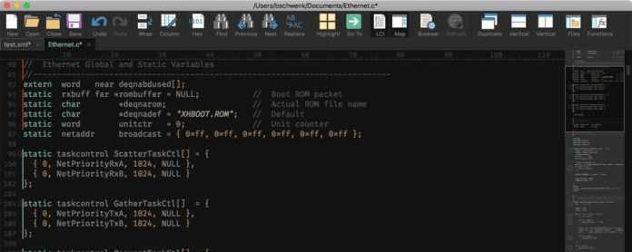 UltraEdit  - UltraEdit - Top 10 Best Text Editors For Mac OS (Latest) 2018