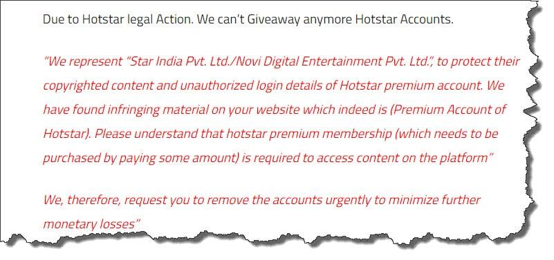 iTech Hacks | Free Premium Hotstar Accounts & Passwords 2019
