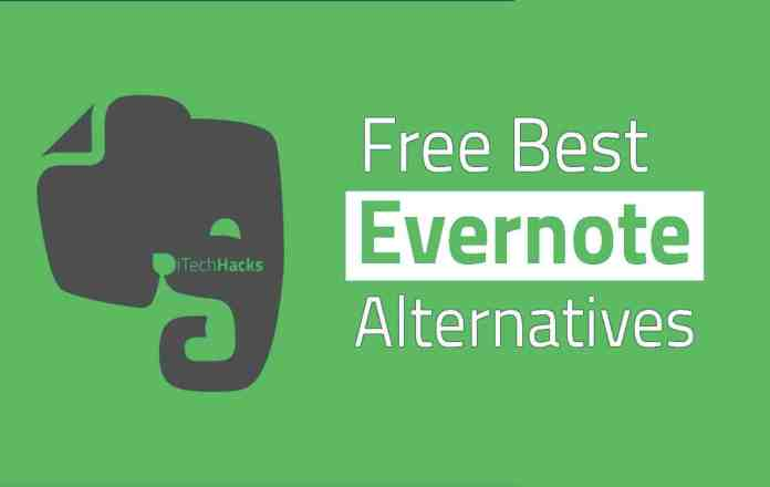 Best Free Evernote Alternatives in 2019