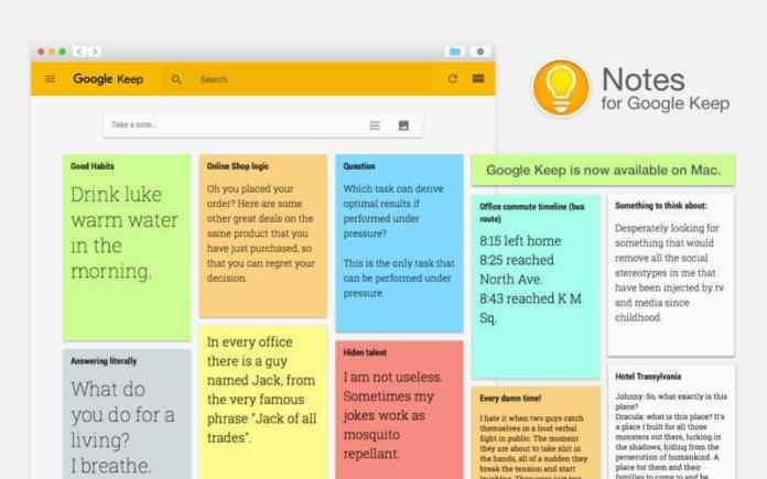 Best Free Evernote Alternatives  - Google Keep - Best Evernote Alternatives in 2019