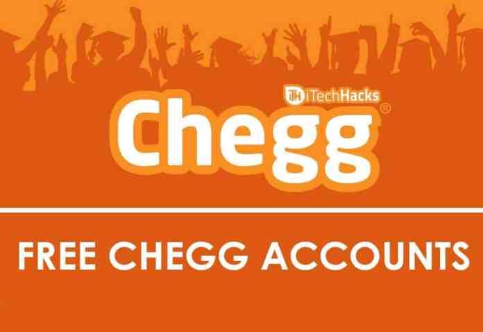 Free Premium Chegg Accounts & Passwords 2019  - Free Chegg Accounts itehhacks - Free Premium Chegg Accounts & Passwords 2019