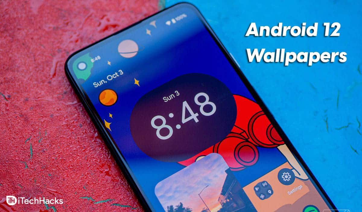 Download Android 12 Stock Wallpapers For Free