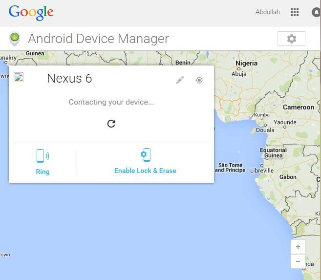 Locate Lost Nexus 6