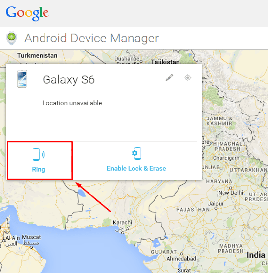 How To Ring Track And Locate Lost Galaxy S6 If Its Lost