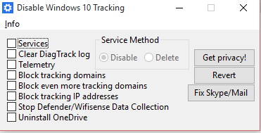 Disable data sharing with microsoft