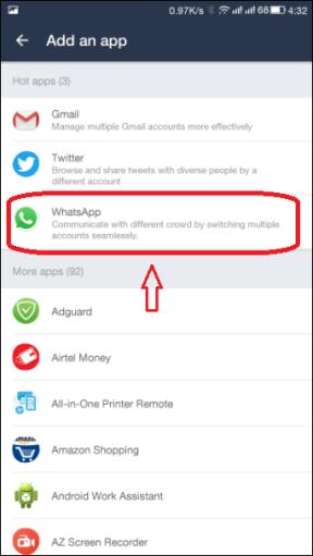 Two Whatsapp Accounts
