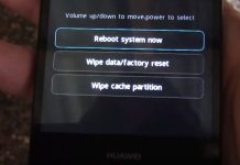 How to boot into Recovery menu on Huawei P8