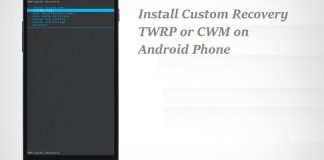 Install Custom Recovery on Android Phone
