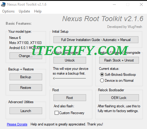 How to Fix Nexus 6 Bootloop by flashing Stock ROM -