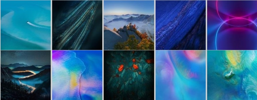 Download Stock Huawei Mate 20 Wallpapers And Themes
