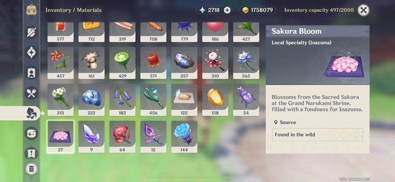 How to farm Sakura blooms and other local specialties in Genshin Impact