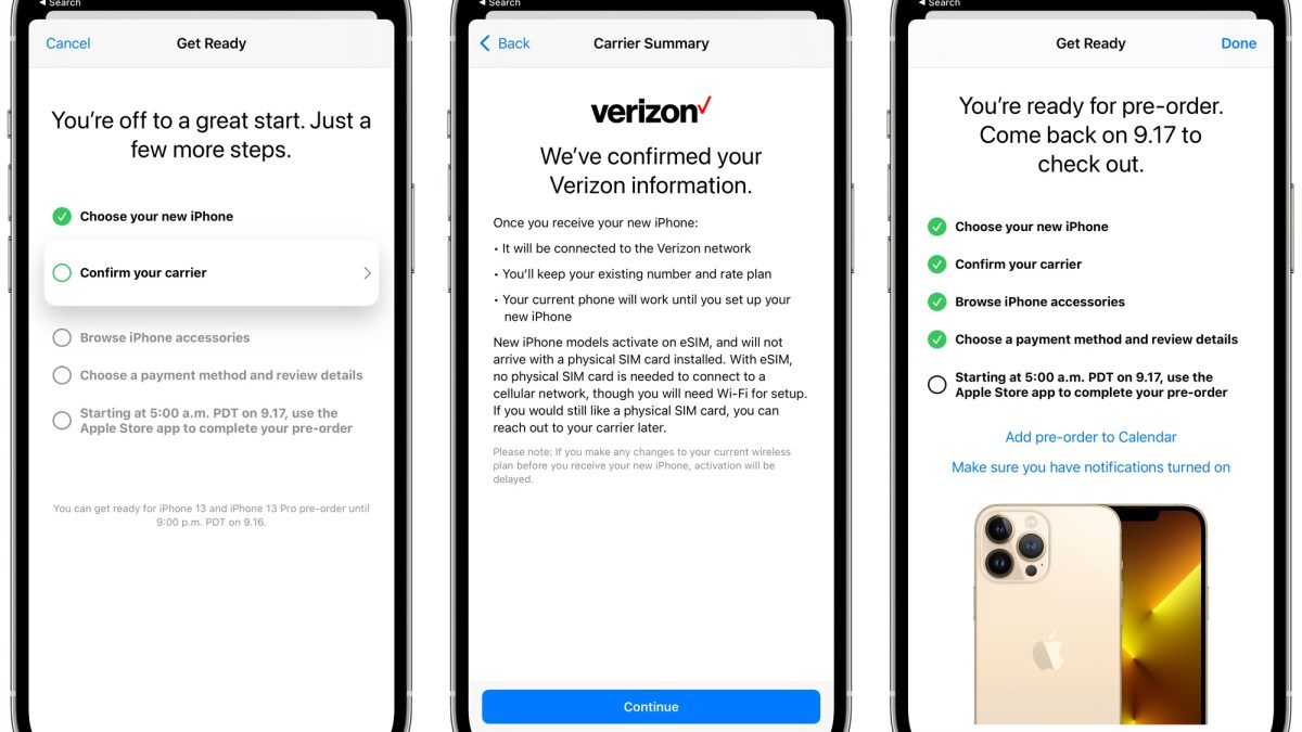 Apple Letting Customers 'Get Ready' for iPhone 13 Launch With Pre-Order Setup