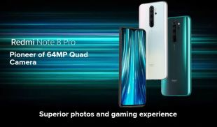… .148 € drum !!!  Redmi Note 8 Pro 6gb ram and 128gb rom, 6.53 inch, 64MP, NFC, 4500mAh… get started right away!