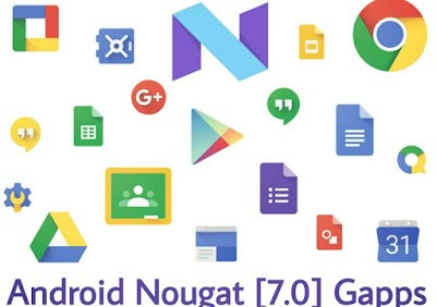 Android 7.0 Gapps